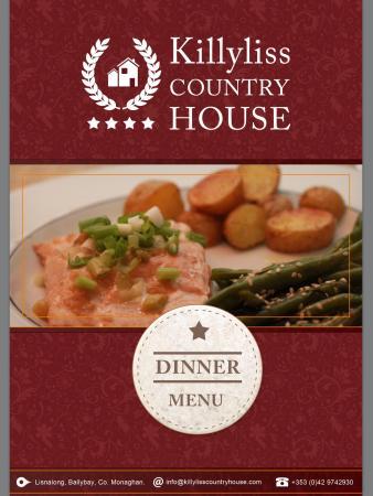 Ballybay, Ιρλανδία: Evening meal available