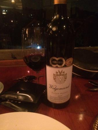 Ritrovo: Stunning wine