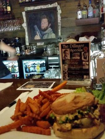 The Dillinger: Firehouse Chicken Sandwich
