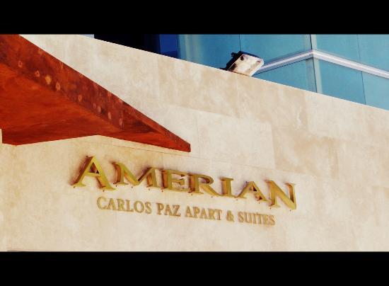 Amerian Carlos Paz Apart & Suites: Fachada