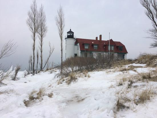 The Hotel Frankfort: Betsie Bay Lighthouse