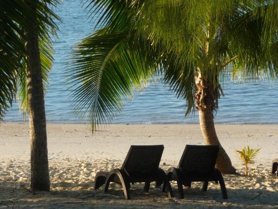 White sandy beaches & turquoise water