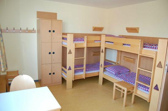 Wittduen, Tyskland: Zimmer der Jugendherberge Wittdün