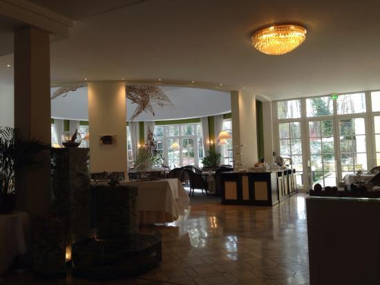 Hotel Villa Weltemühle Dresden: Fruehstueck