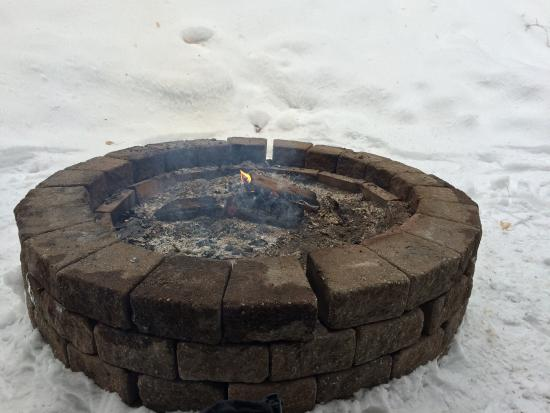 Madison, NH: Small fires near the skating area and snow tubing