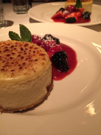 The Capital Grille: Cheesecake maravilhoso