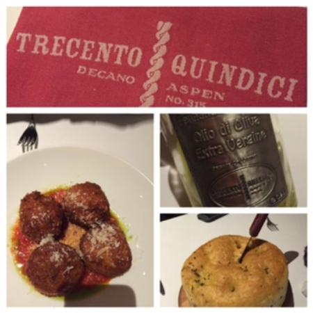 Trecento Quindici Decano : quite enjoyable!!