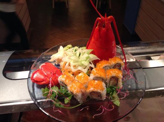 Yume Nippon Restaurant: lobster roll, davvero buono