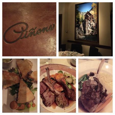 Pinons Restaurant : good experience, fantastic decor!!