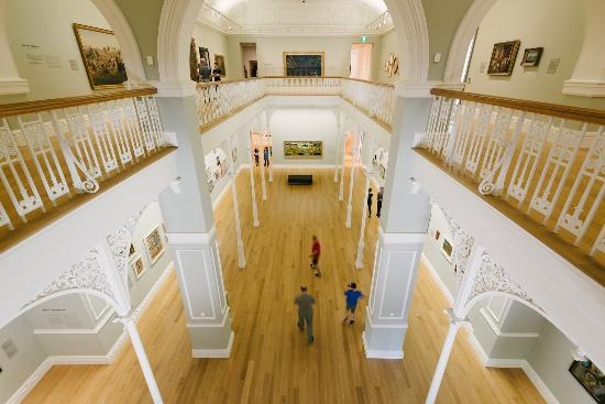 Auckland Art Gallery Toi o Tamaki : The Grey Gallery. Photo: David St George