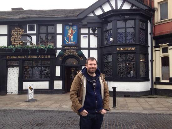 Bolton, UK: great old pub with history