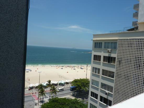 South Beach Copacabana Residence Vista Da Cobertura