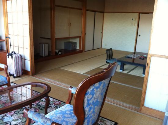 Nagasaki Blue Sky Hotel : 窓側から