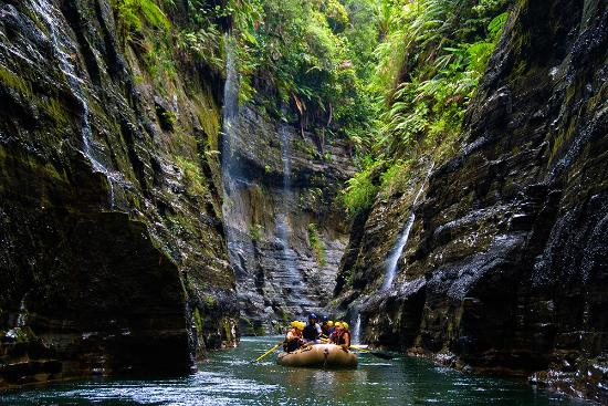 Rivers Fiji - Day Adventures: Rafting through the Upper Navua River Gorge | Viti Levu, Fiji
