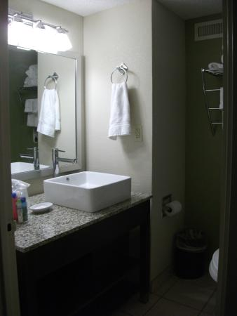 Holiday Inn Tulsa City Center: bathroom