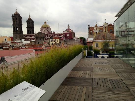 Museo Amparo Terraza Museo Amparo's Rooftop Cafe 2