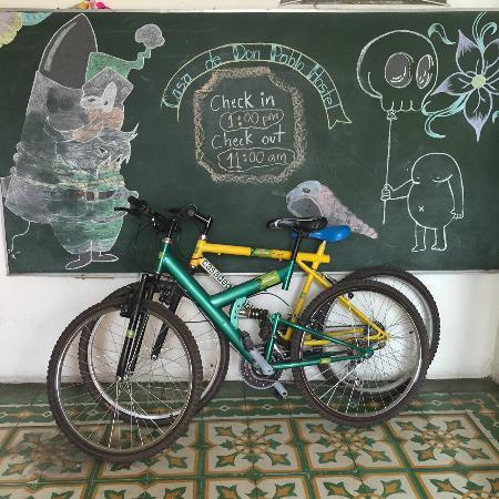 Casa de Don Pablo Hostel: Bicis!