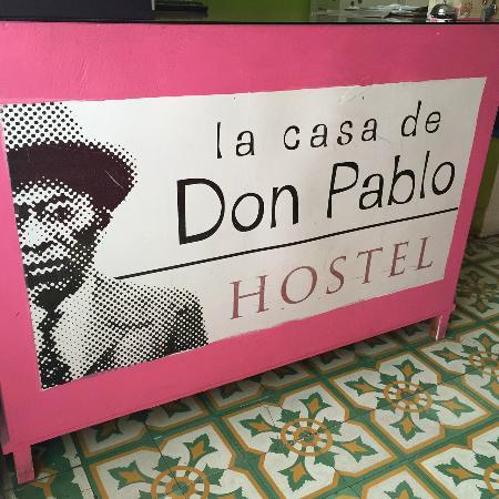Casa de Don Pablo Hostel: Recepción