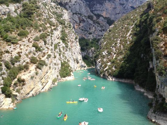 Alpes-de-Haute-Provence, فرنسا: Les gorges