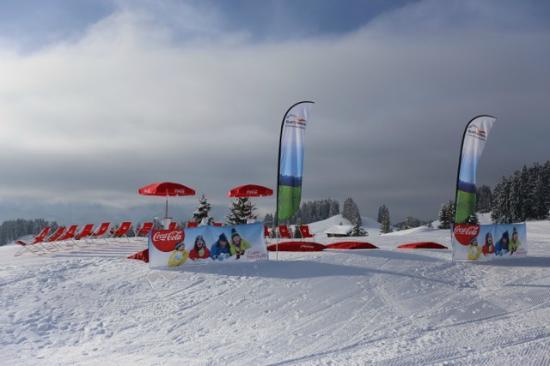 Villars-sur-Ollon, Zwitserland: la SnowPlage du golf