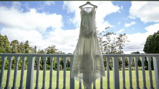 Kerikeri Park Motel: My wedding day and our view