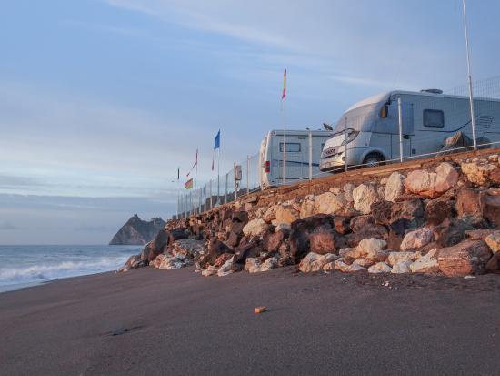 Camping La Focetta Sicula: Fronte Spiaggia Vista mare