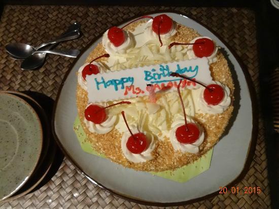 Layalina Hotel Staff Surprised Me With A Birthday Cake