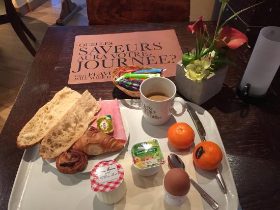Kyriad Beaune: Très bon petit déjeuner