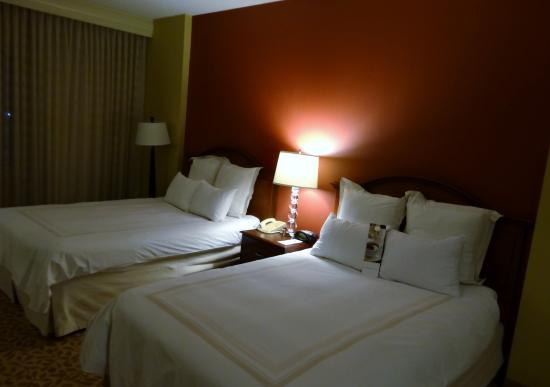 Dallas Marriott Suites Medical/Market Center: The Beds