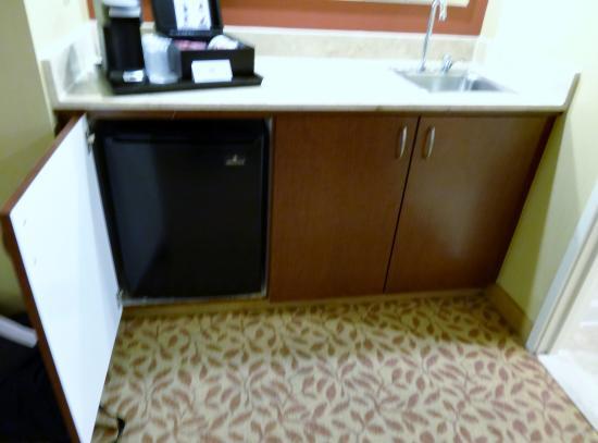 Dallas Marriott Suites Medical/Market Center: The wet bar