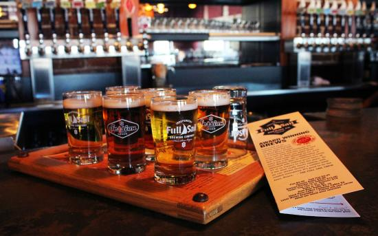 Full Sail Brewing Co: Full Sail Brewing Taster Tray