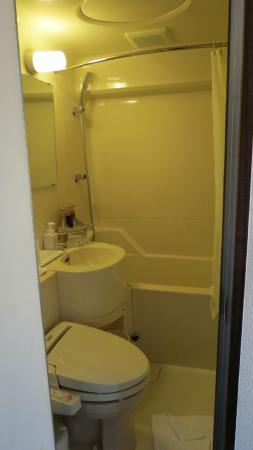 City Hotel Aunties: Banheiro pequeno