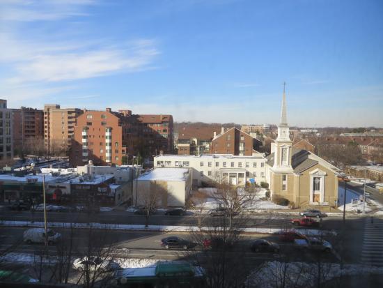 Hilton Arlington: 部屋からの眺め