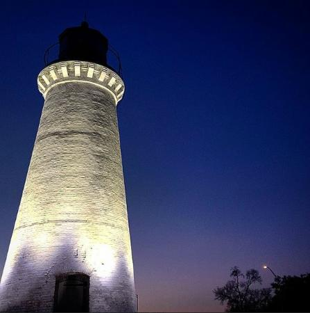 Pascagoula, Миссисипи: Lighthouse shot I took while visiting Jan '15 (kaitwalter414 on Instagram)