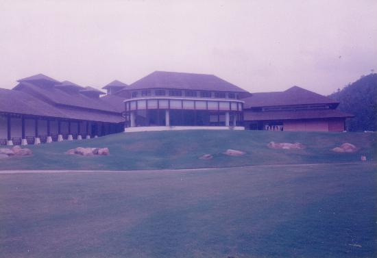 Nexus Resort Golf Course : The clubhouse