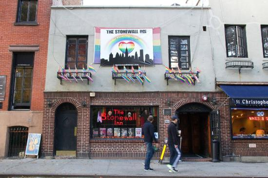 from Skyler greenwich village gay bar