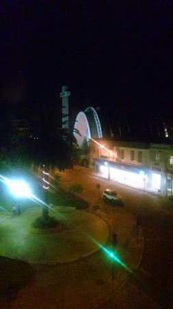 Gran Hotel Isabel Riquelme: La vista nocturna desde el 4to piso del hotel
