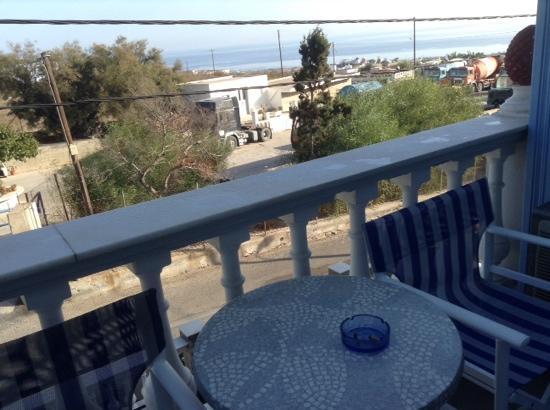 Blue Sky Hotel: vista de la habitacion