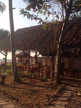 Nautilus Resort: Breakfast area