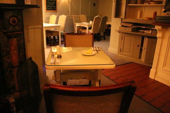 Conyngham Arms Hotel: My Dinner Table