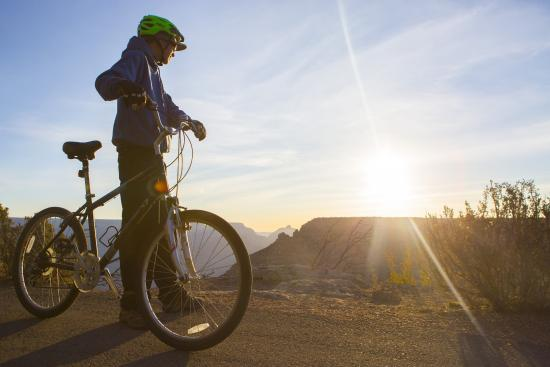 Bright Angel Bike Rentals and Tours : Sunset tour