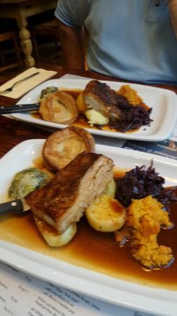 Sunday Roast Pork,  deliciously tender.