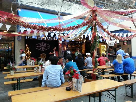 Great Beer Selection With Many German Beers Bier Garten