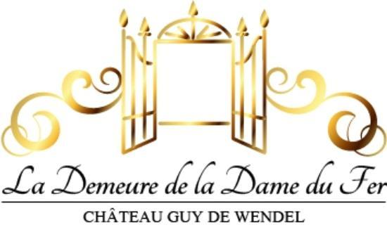 restaurant du chateau la demeure de la dame du fer logo la demeure de la - Chateau De Wendel Hayange Mariage