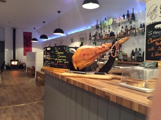 The Steading Bistro: Serrano Ham lovely!