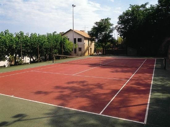 Sercotel Villa Engracia rural Hotel and Apartments : Pista de tenis Sercotel Villa Engracia