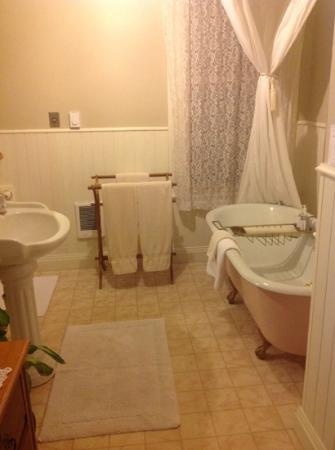 Old Consulate Inn : bathroom ensuite
