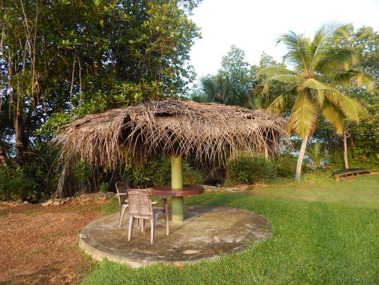 Mangrove Villa: Романтические зонтики