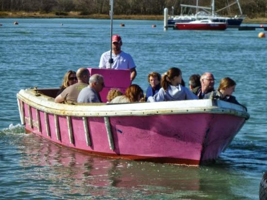 Hamble, UK: One of the Little Pink Ferry