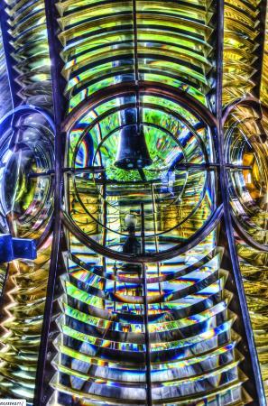 Gairloch Heritage Museum: Fresnel lens